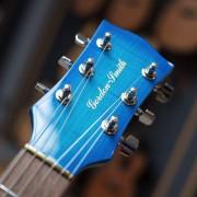 Galaxy electric guitar headstock photo - Gordon Smith Guitars