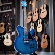 Galaxy electric guitar in studio photo - Gordon Smith Guitars