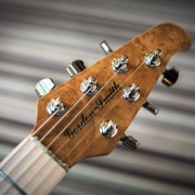 Guardian electric guitar headstock photo - Gordon Smith Guitars