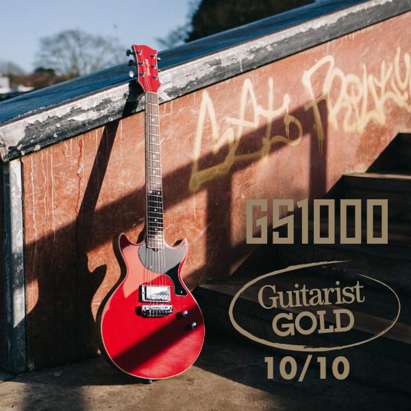 GS1000 with Guitarists Choice 10/10 award logo