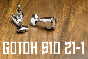 Gotoh 510 21 to 1 Tuners cover image