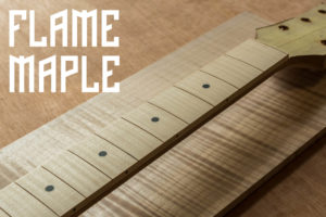 Flame Maple Fretboard Cover Image