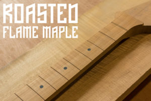 Roasted Flame Maple Fretboard Cover Image