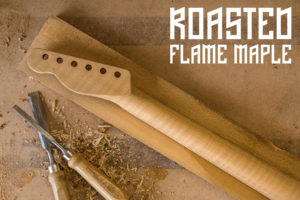 Neck Wood Roasted Flame Maple Cover Image