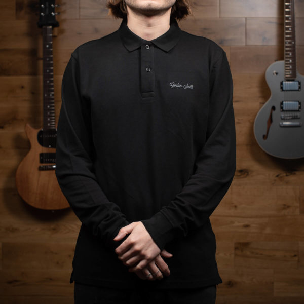 GS polo long sleeve - front