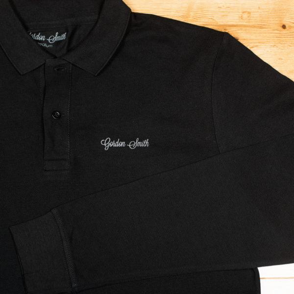 GS polo long sleeve - logo