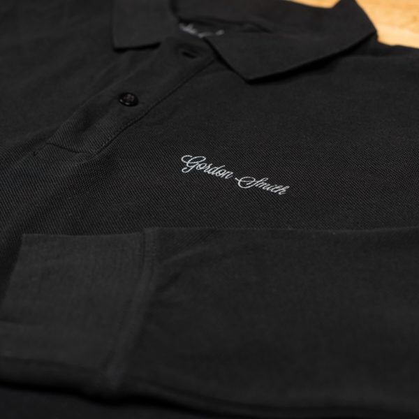 GS polo long sleeve - close up