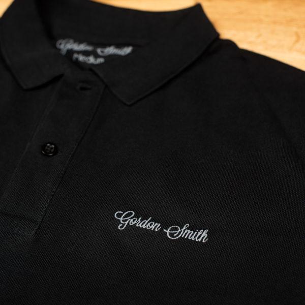 GS polo short sleeve - logo close up