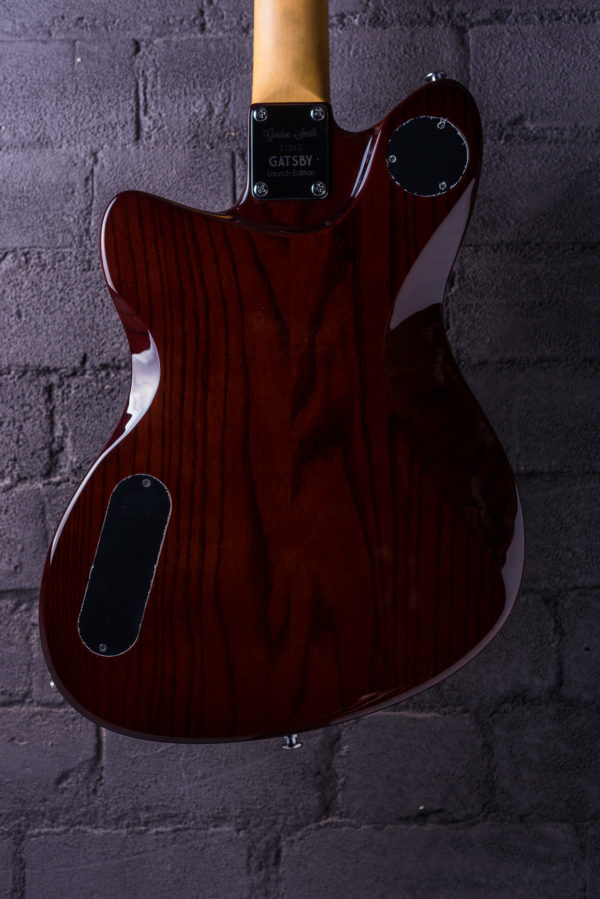 Gatsby electric guitar from Gordon Smith. Real ale contour back.
