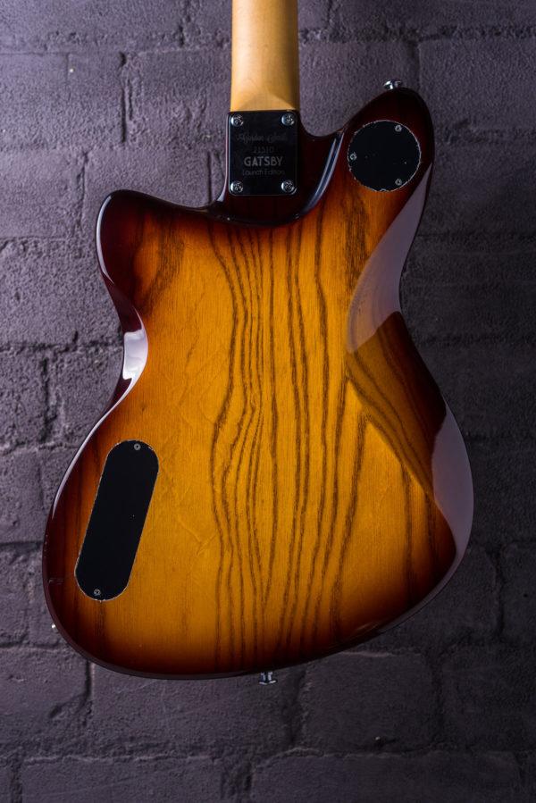 Gatsby electric guitar from Gordon Smith. Tobacco Burst contour back.